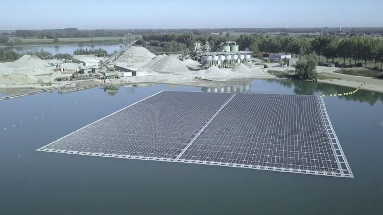 Vattenfall has opened its first floating solar farm in the Netherlands