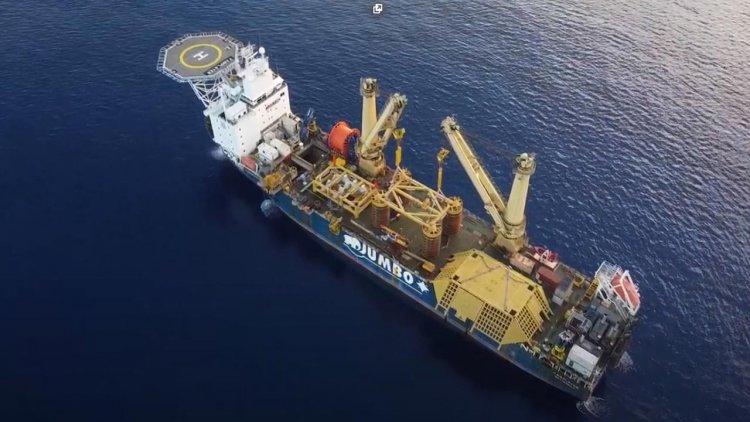 VIDEO: Jumbo Offshore installs Karish FPSO mooring at record depth