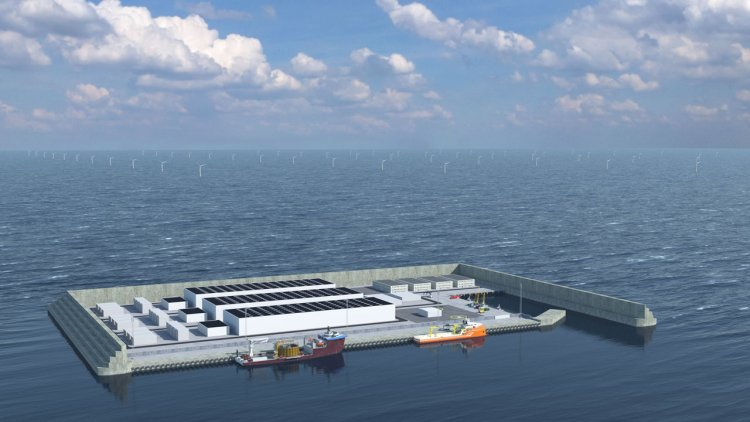 Denmark to build artificial island in the North Sea as a wind energy hub