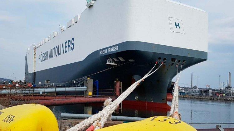Höegh Autoliners returns to Gothenburg