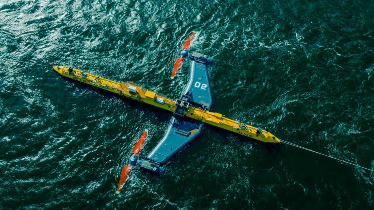 Orbital Marine Power launches O2: world's most powerful tidal turbine