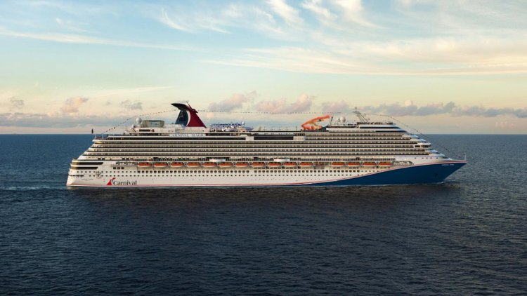 Carnival Cruise Line announces new red, white and blue hull design across fleet