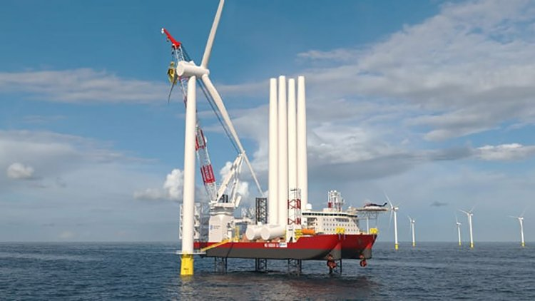 Dominion Energy-led consortium builds America's first offshore wind turbine installation vessel