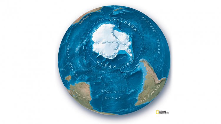 National Geographic recognizes Southern Ocean as Earth's 5th ocean