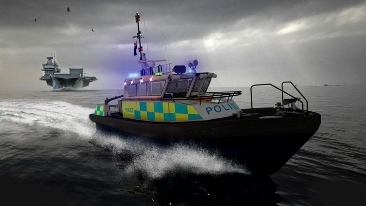 BMT secures multi-vessel design order for UK Ministry of Defence Police