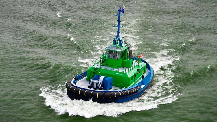 Damen reaches major milestone in fully-electric tug project