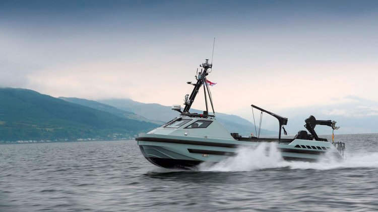 Final Royal Navy autonomous minehunting boat delivered to Clyde