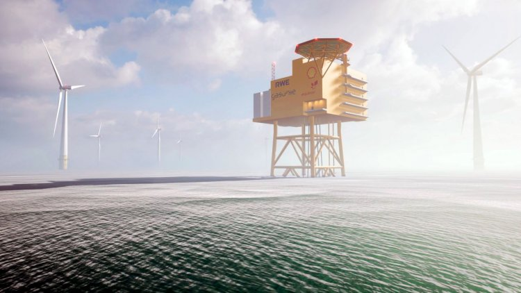 Shell, Equinor, RWE and Gasunie to push ahead with plans for offshore hydrogen park