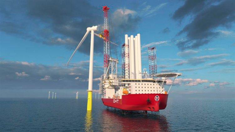 OHT wind turbine installation vessel to operate with a broad scope of Wärtsilä solutions