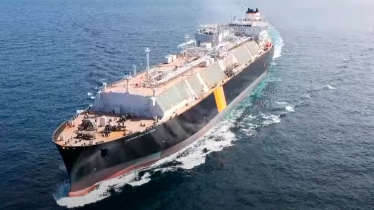 Dual-fuel LNG carrier Diamond Gas Victoria delivered