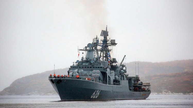 Spain did not let Russian warships to enter its port