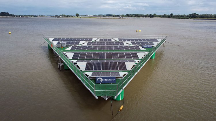 BV delivers world's first AiP for offshore floating solar technology to SolarDuck