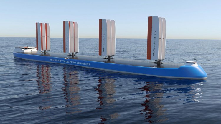 Windship secures AiP for innovative triple-wing design from DNV