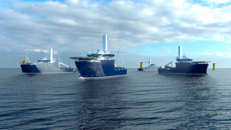 Kongsberg Maritime  to deliver PM propulsion for two new offshore wind vessels