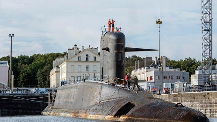 Naval Group begins deconstruction of third French ex-SSBNs