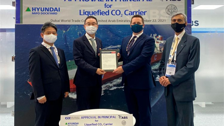 ABS AIP for next generation liquified CO2 carrier JDP designs